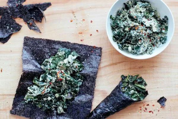 Использование водорослей нори в кулинарии